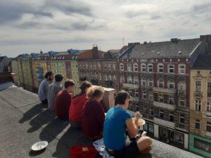 Kollektiv auf Dach September 2019